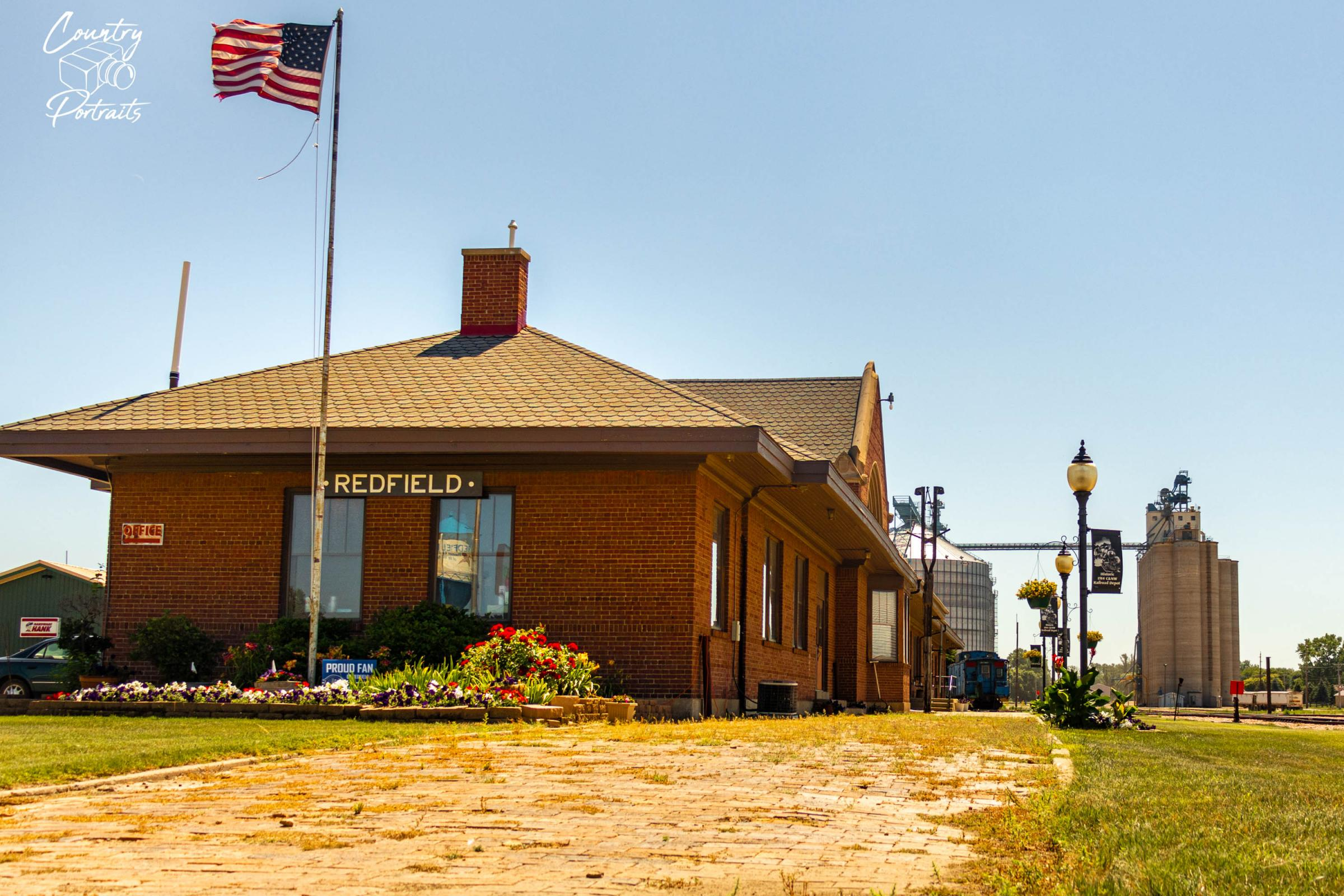 City of Redfield Depot