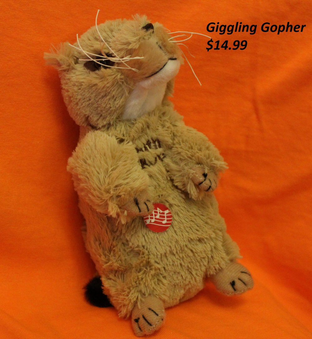 Giggling Gopher